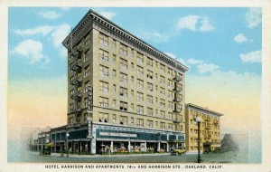 Hotel Harrison and Apartments, 14th and Harrison Sts., Oakland, California